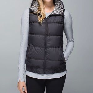 lululemon Chilly Chill Down Hooded Vest